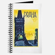 Prague Travel Poster 1 Journal