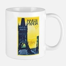 Prague Travel Poster 1 Mug