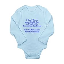 Pre-existing health conditions Long Sleeve Infant