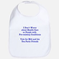 Pre-existing health conditions Bib
