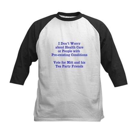 Pre-existing health conditions Kids Baseball Jerse