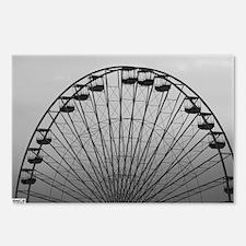 Half Ferris Wheel Postcards (Package of 8)