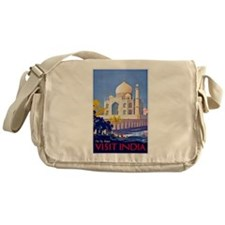 India Travel Poster 13 Messenger Bag