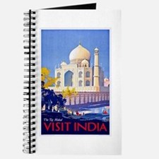India Travel Poster 13 Journal
