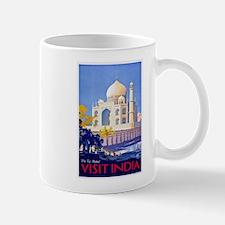 India Travel Poster 13 Mug