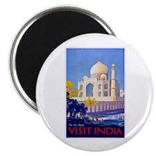 India Travel Poster 13 Magnet