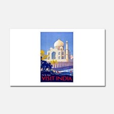 India Travel Poster 13 Car Magnet 20 x 12