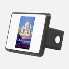 India Travel Poster 13 Hitch Cover