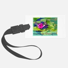 Massage Therapist / Waterlily Luggage Tag