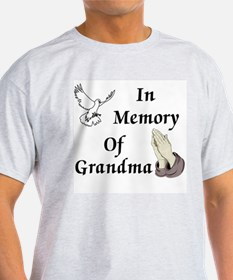 Memory of Grandma Ash Grey T-Shirt