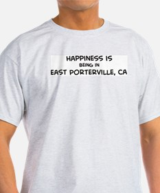 East Porterville - Happiness Ash Grey T-Shirt