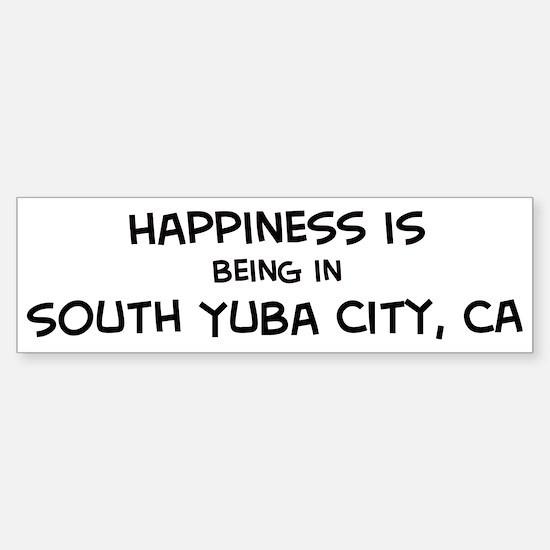 South Yuba City - Happiness Bumper Bumper Bumper Sticker