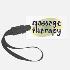 Massage Therapy Luggage Tag