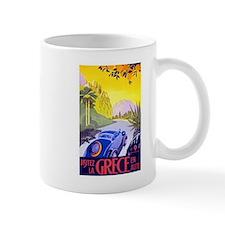 Greece Travel Poster 1 Mug