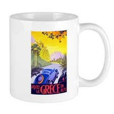 Greece Travel Poster 1 Mug