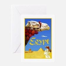 Egypt Travel Poster 3 Greeting Card