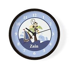 Ahoy Mate Monkey Wall Clock - Zain