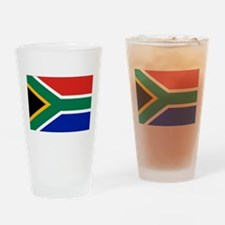 South Africa Drinking Glass