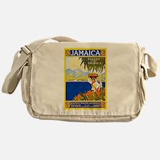 Jamaica Travel Poster 2 Messenger Bag