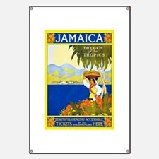 Jamaica Travel Poster 2 Banner