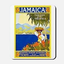 Jamaica Travel Poster 2 Mousepad