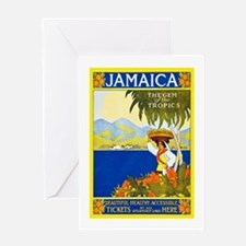 Jamaica Travel Poster 2 Greeting Card