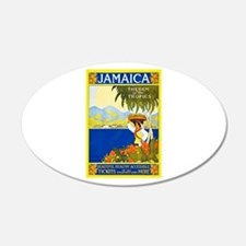Jamaica Travel Poster 2 Wall Decal