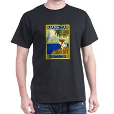 Jamaica Travel Poster 2 T-Shirt