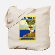 Jamaica Travel Poster 2 Tote Bag