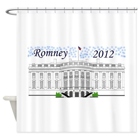 Romney 2012 Shower Curtain