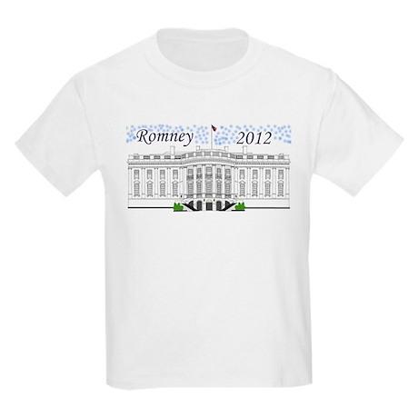 Romney 2012 Kids Light T-Shirt