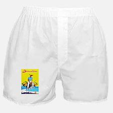 Jamaica Travel Poster 1 Boxer Shorts