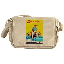 Jamaica Travel Poster 1 Messenger Bag