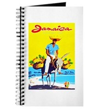 Jamaica Travel Poster 1 Journal