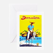 Jamaica Travel Poster 1 Greeting Card