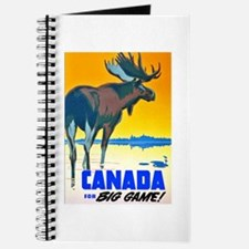 Canada Travel Poster 15 Journal