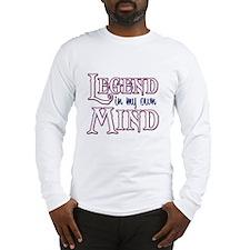 Legend/Mind Long Sleeve T-Shirt