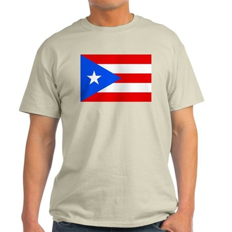 Puerto Rican flag Light T-Shirt