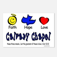 Unique Calvary Postcards (Package of 8)