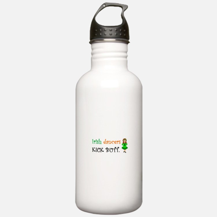 Irish Dancers Kick Butt Water Bottle