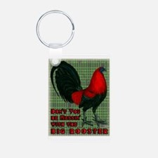 Big Red Rooster2 Keychains