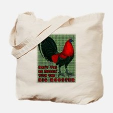Big Red Rooster2 Tote Bag