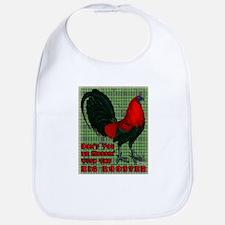 Big Red Rooster2 Bib