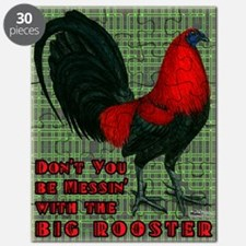 Big Red Rooster2 Puzzle