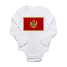 Montenegro Long Sleeve Infant Bodysuit