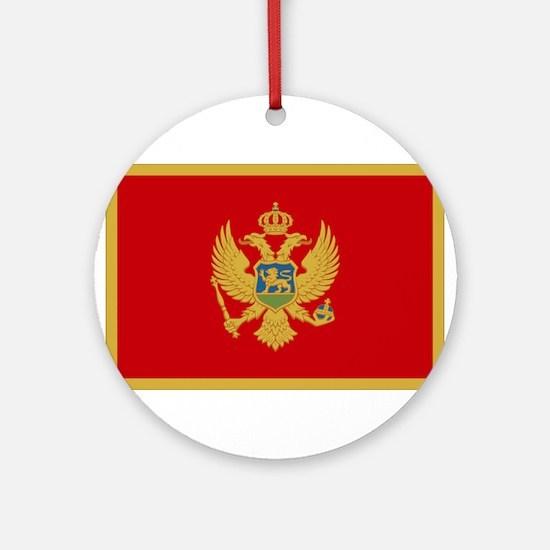 Montenegro Ornament (Round)