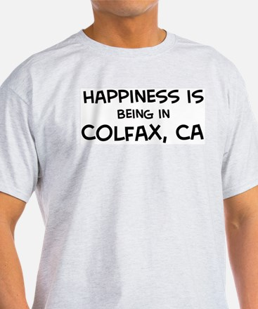 Colfax - Happiness Ash Grey T-Shirt