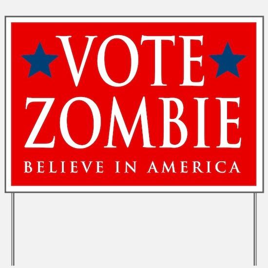 Vote Zombie Yard Sign 3