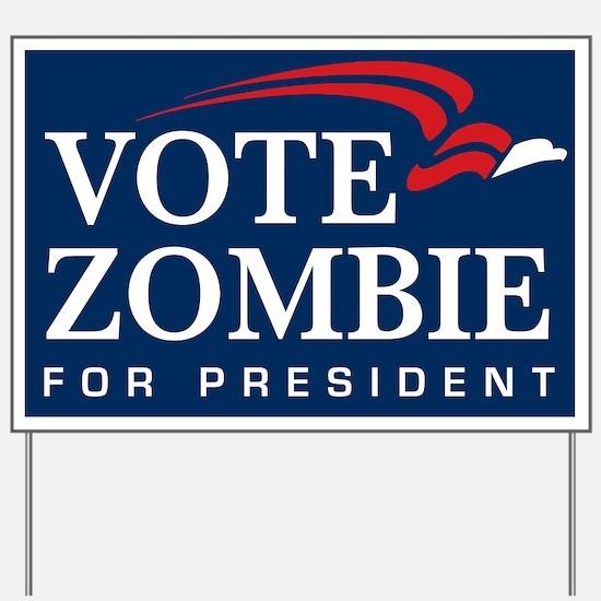 Vote Zombie Yard Sign 4