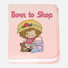 Baby Born to Shop baby blanket